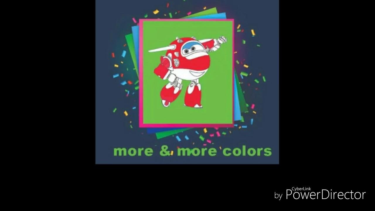 Look At The Coloring Of Super Wings Regarder Le Coloriage De