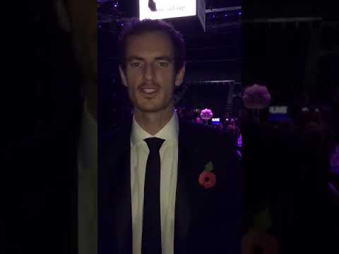 Sir Andy Murray Has a Message for 2018 Kiltwalkers