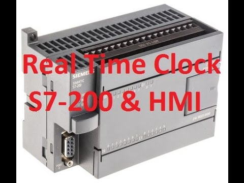Real Time Clock RTC on S7 - 200 & HMI P1