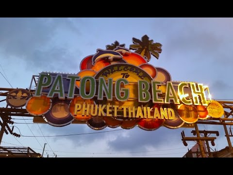 Bangla road Patong beach Phuket 2015
