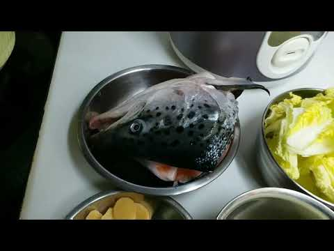 How  To Cook SALMON FISH HEAD SOUP