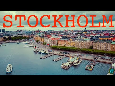Stockholm by drone (Audit)