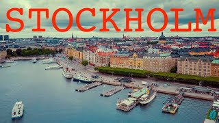 Stockholm by drone (long)