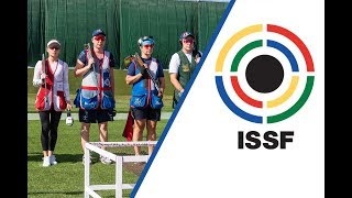 Trap Women Final - 2018 ISSF World Cup Stage 5 in Siggiewi (MLT)