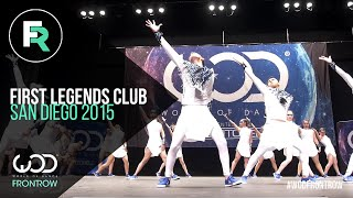 Download First Legends Club | 3rd Place Upper Division | FRONTROW | World of Dance San Diego 2015 | #WODSD15 Mp3 and Videos
