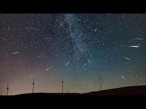 Perseid Meteor Shower (Timelapse)