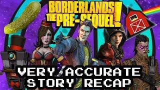 Borderlands: The Pre-Sequel Very Accurate Story Recap