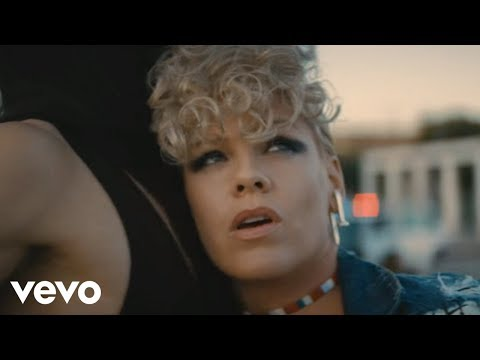 #18 - P!nk - What About Us (Official Video)