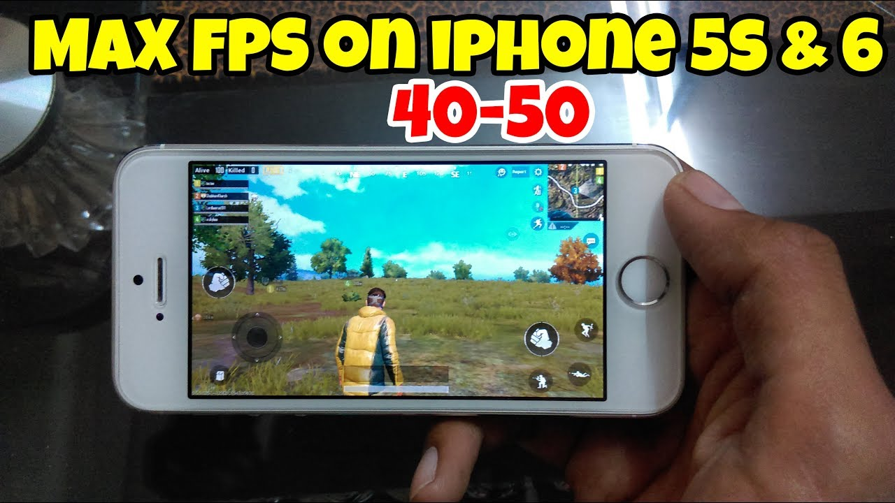 Hdr 60 Fps Pubg Mobile: PUBG Mobile Get Max FPS On Your IPhone5s & 6 Devices