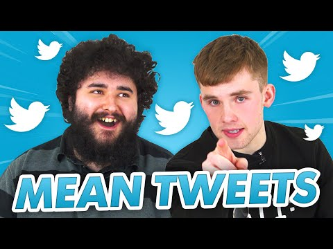 STEPHEN TRIES AND MAX READ MEAN TWEETS