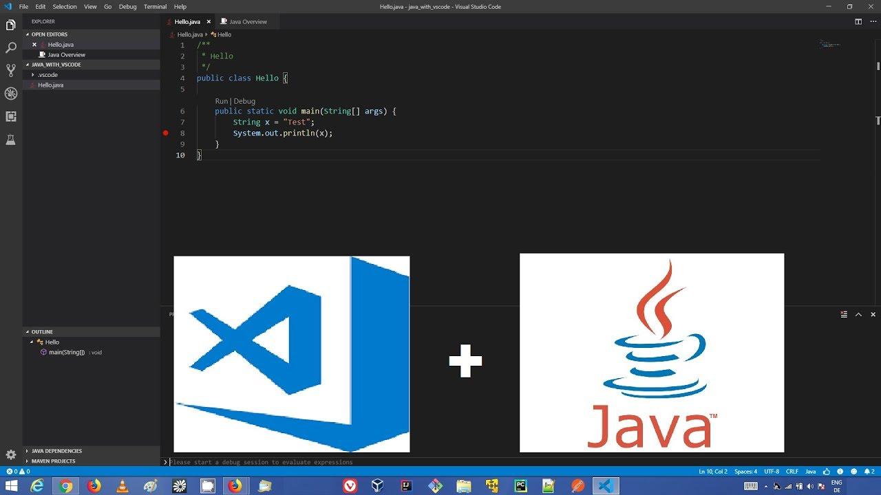 How to Set Up Java Development in Visual Studio Code on Windows | vsCode  Java Development Basics