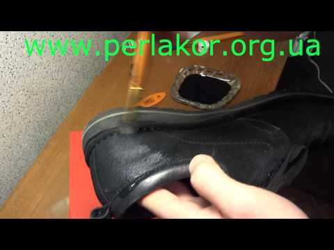 Обновления цвета  чёрных замшевых туфлей