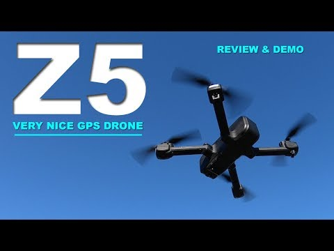 WOW!  A quality Low Cost GPS drone - SJRC Z5 - Review