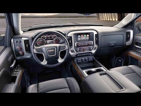 Gmc 2015 Gmc Sierra 1500 Denali Interior Youtube