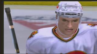 NHL 2005 Simulated The Lost Season Playoff Game 1 Calgary vs Vancouver