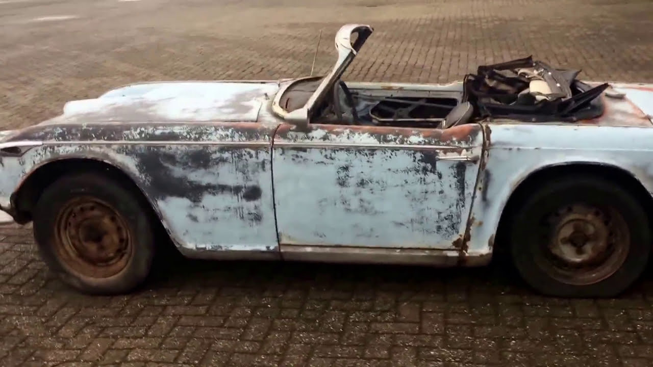 1967 Triumph TR4A solid axle for restoration