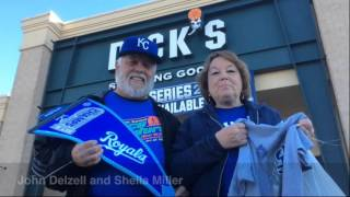 Royals Fans Shopping For The Parade
