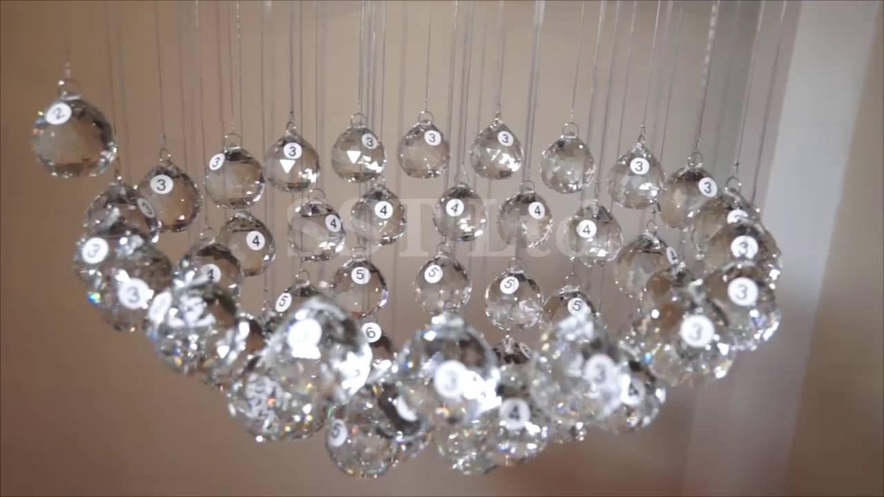 Crystop Fantastic Raindrop Crystal, How To Install A Crystal Chandelier
