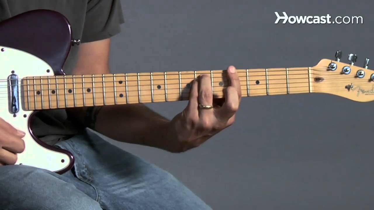 How To Play A G Minor Barre Chord Guitar Lessons Youtube