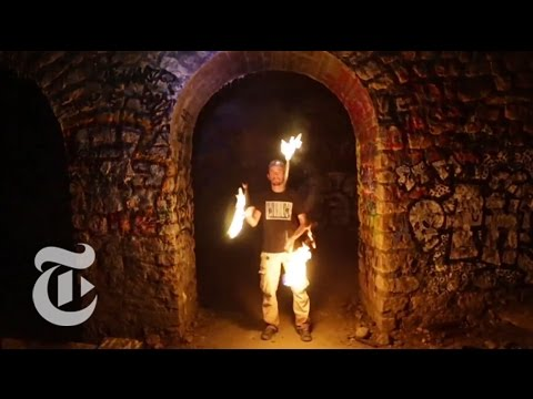 Party in the Paris Catacombs, But Don't Tell | The New York Times