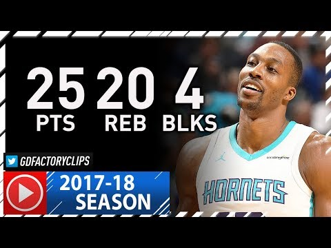 Dwight Howard Full Highlights vs Timberwolves (2017.11.20) - 25 Pts, 20 Reb, 4 Blocks!