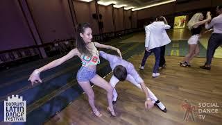 Alp & Begum - Salsa Social Dancing | Bodrum Latin Dance Festival 2018