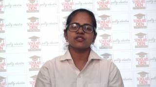 Aishwarya Agarwal sharing her experience about dropping a year for IIT preparation