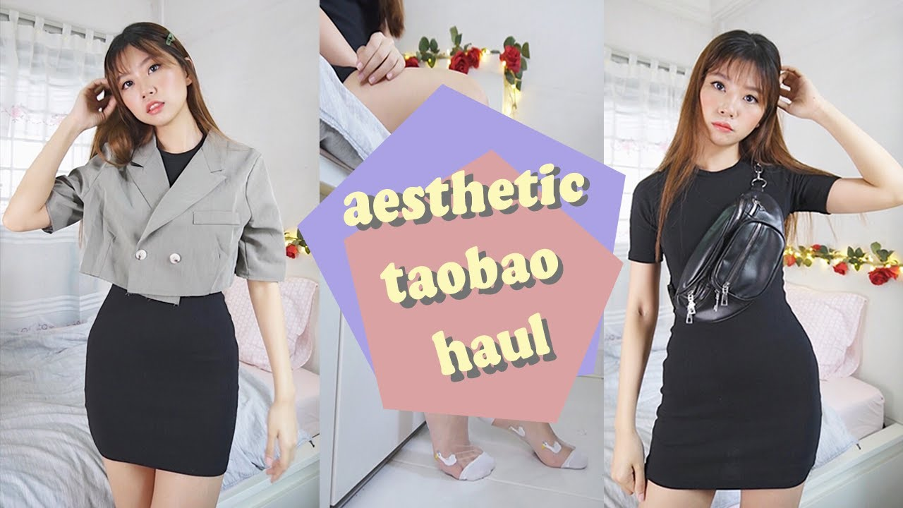 AFFORDABLE + AESTHETIC TAOBAO TRY-ON HAUL | 淘宝开箱 | AshAisle