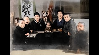 カラー化した写真で見る江戸時代から昭和までの子どもたちの移り変わり