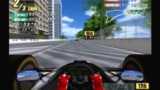 F1 Flag to Flag dreamcast gameplay 2