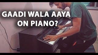 Gaadi Vala Aaya Ghar Se Kachra Nikal - Piano/Instrumental