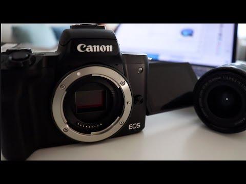 Чем Canon M50 лучше чем Canon 200D