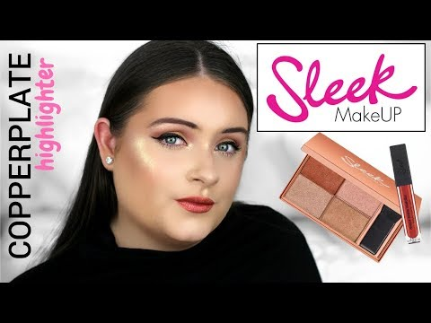 NEW* SLEEK MAKEUP 2018 COPPERPLATE COLLECTION! REVIEW + SWATCHES