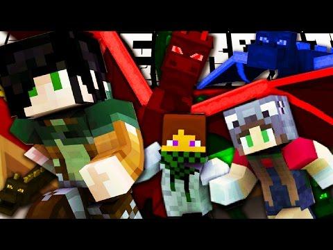 DRAGHI NELLE NUOVE BEDWARS - Minecraft ITA - PROTOWARS w/ KeNoia Marcy