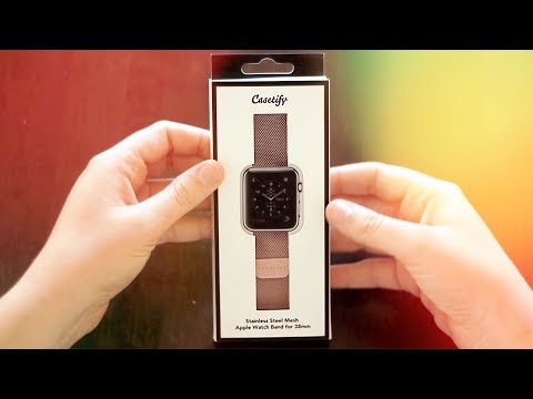 Casetify Apple Watch Steel Mesh Band | Hands On [CoM Watch Store]