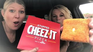 Pizza Hut's Stuffed Cheez-It Pizza Review