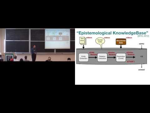 Andrew McCallum: Universal Schema for Representation and Reasoning from Natural Language