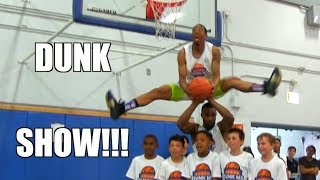 SICK Dunk Show Highlights : JClark - Reemix - Staples - Haneef Video
