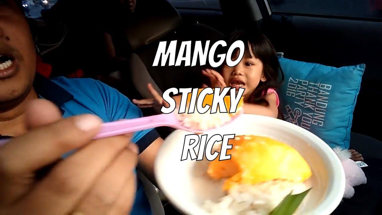 Mango Sticky Rice Pemkot Cimahi, ketan mangga cimahi ala ala thailand