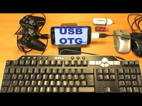 Samsung Galaxy S7 USB OTG (On-The-Go) USB Host