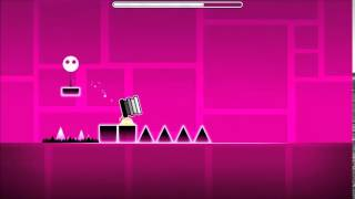 Geometry Dash - Back on Track (Impossible Demon) - by RobTop