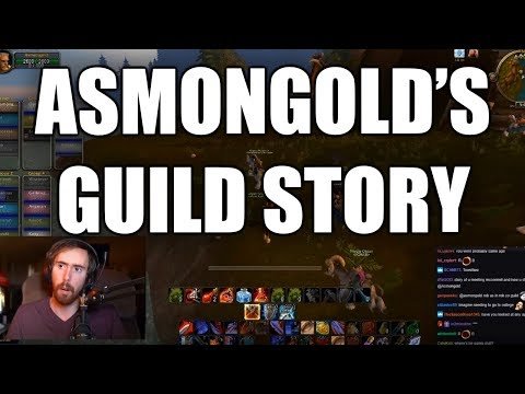 Asmongold Tells His Story About His Old WoW Guild
