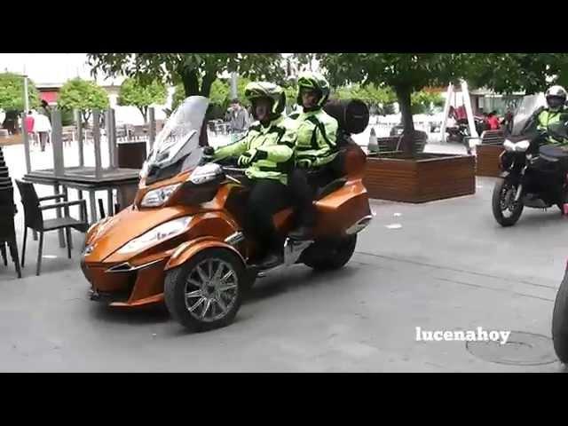 Vídeo Noticia: Las 200 motos de la Rider Andalucía llenan las calles de Lucena