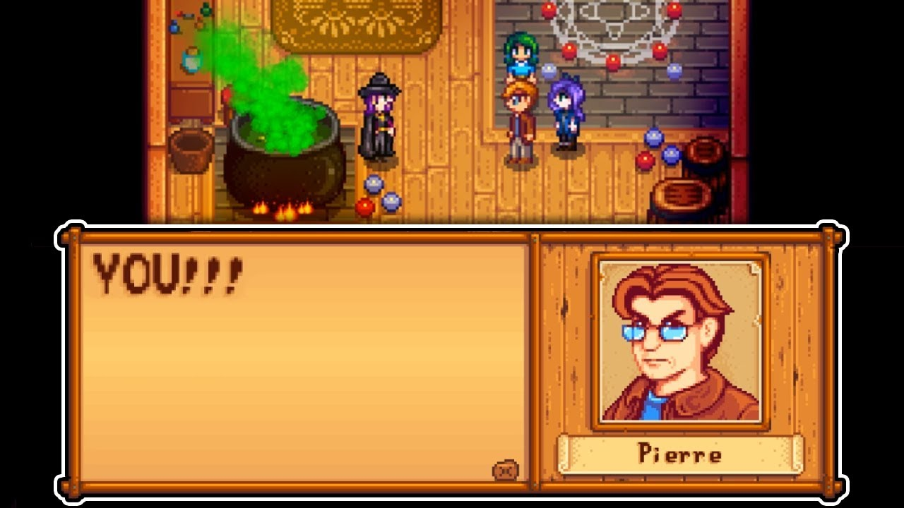 When Pierre Finds Out The Wizard Is Abigail S Father In Stardew Valley Expansion Mod Youtube In this guide, we have listed all the villagers. when pierre finds out the wizard is abigail s father in stardew valley expansion mod