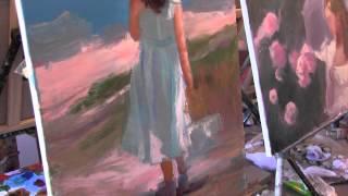 Научиться рисовать ребенка, уроки живописи в Москве, художник Сахаров