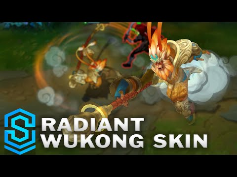 Radiant Wukong Skin Spotlight - League of Legends