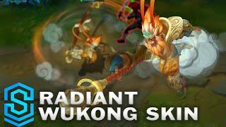 Radiant Wukong Skin Spotlight - League of Legends