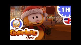 THE GARFIELD SHOW - 1 Hour - Winter Christmas Compilation