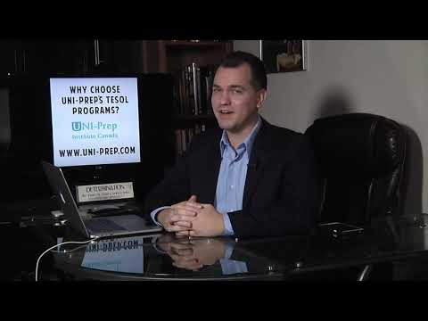 Why Choose UNI-Prep for TESOL?
