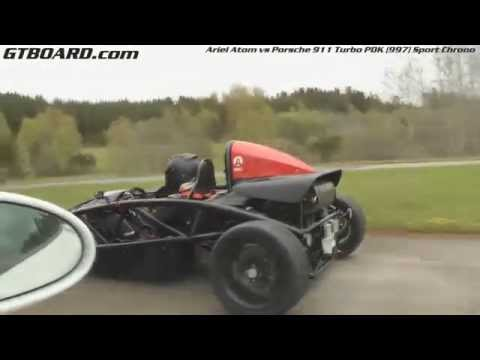Ariel Atom vs Porsche 911 Turbo PDK (997)
